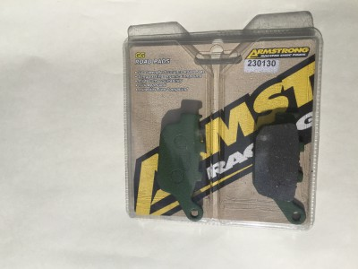 Rear Brake Pads 675, TT600, Tiger 800, Street Triple