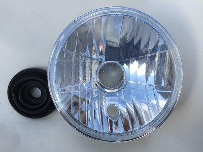 Light unit symmetrical clear lens Bonneville EFI, Thruxton, also Trident