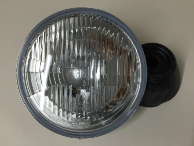 Hella light unit original on Trident, Speed Triple 900 and Thunderbird