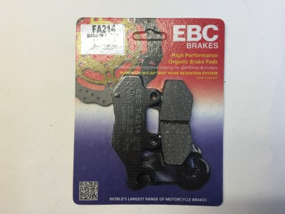 EBC Organic Brake Pads Bonneville (rear), 900, 955, 1050