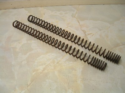 Trident/Trophy/Sprint 900 Multirate Showa uprated fork springs.