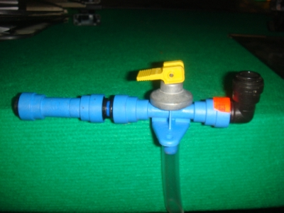 Push Fit Shut off Valve 12mm Used