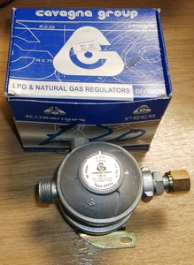 LPG 30Mbar Regulator (M20 to 10mm)