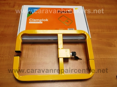 Clamplok - Universal Wheel Clamp