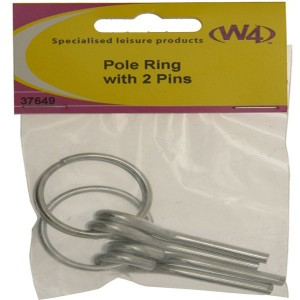W4 Pole Ring with 2 Pins