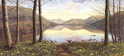 Ullswater in Spring - Lake District. Keith Melling