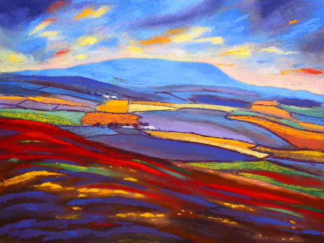 Pendle from Weets Hill - Lancashire. Keith Melling