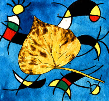 A Leaf From Miro's Garden. Keith Melling