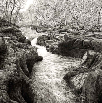 The Strid at Bolton Abbey  -  Yorkshire Dales. Keith Melling