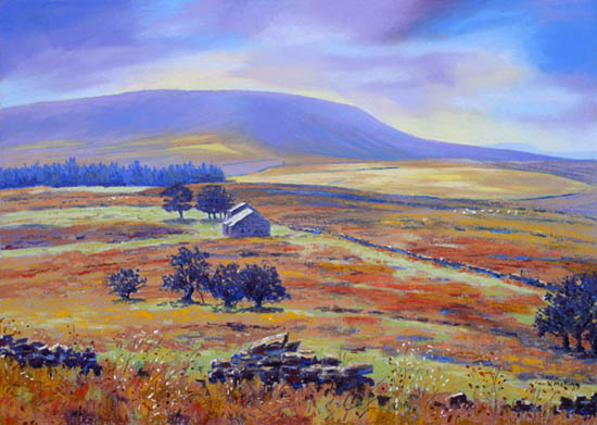Pendle Hill and Firber House from Wheathead Height II - Lancashire. keith Melling