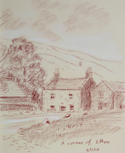 Litton. Sketch - Keith Melling