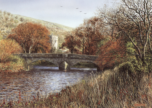 Arncliffe - Yorkshire Dales. Artist : Keith Melling
