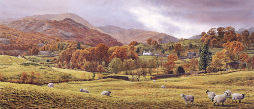 Little Langdale  -  Lake District. Keith Melling