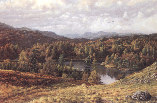 Tarn Hows and Langdale Pikes - Lake District. Keith Melling