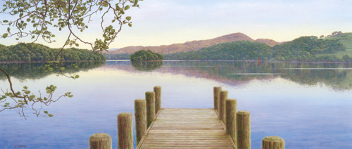 Still Evening, Coniston Water  -  Lake District. Keith Melling