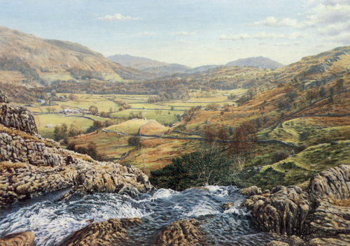 A Lakeland Beck, Easedale  -  Lake District. Keith Melling