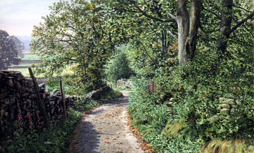 A Lakeland Lane - Lake District. Keith Melling
