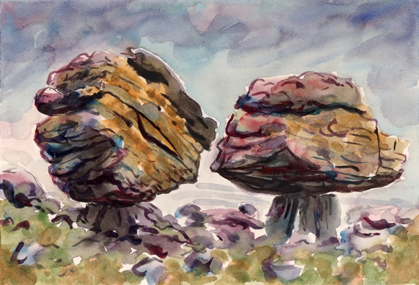 Norber Boulders, Austwick, Yorkshire Dales. Artist: Keith Melling