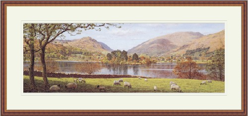 Grasmere. Painting by Keith Melling