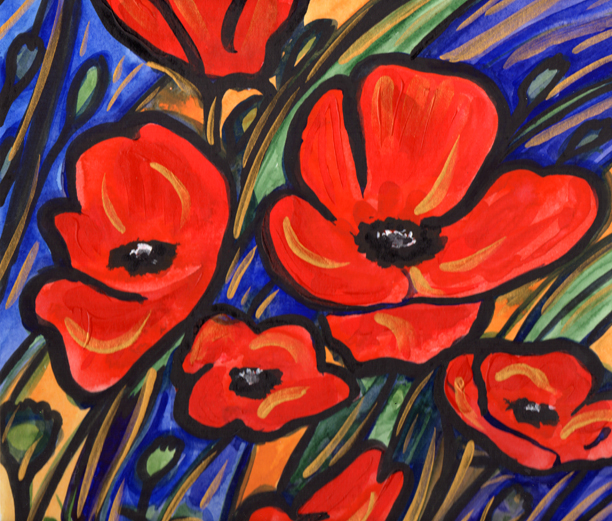Poppies. Artist - Keith Melling