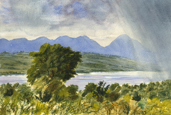 Coniston from near Top o' Selside. Artist: Keith Melling