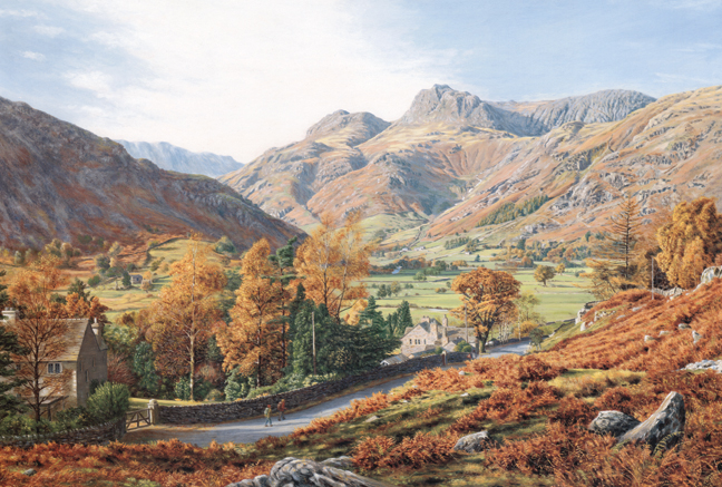 Great Langdale, Lake District. Artist: Keith Melling