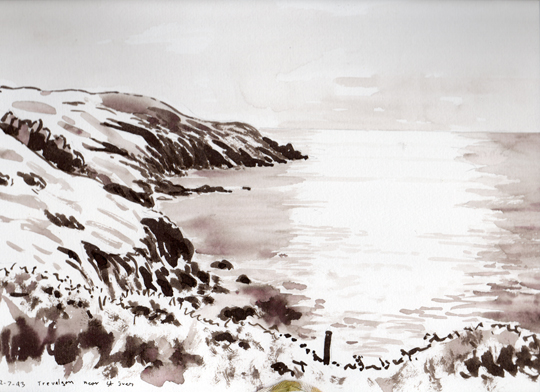 Travalgon near St. Ives 1993. Artist: Keith Melling