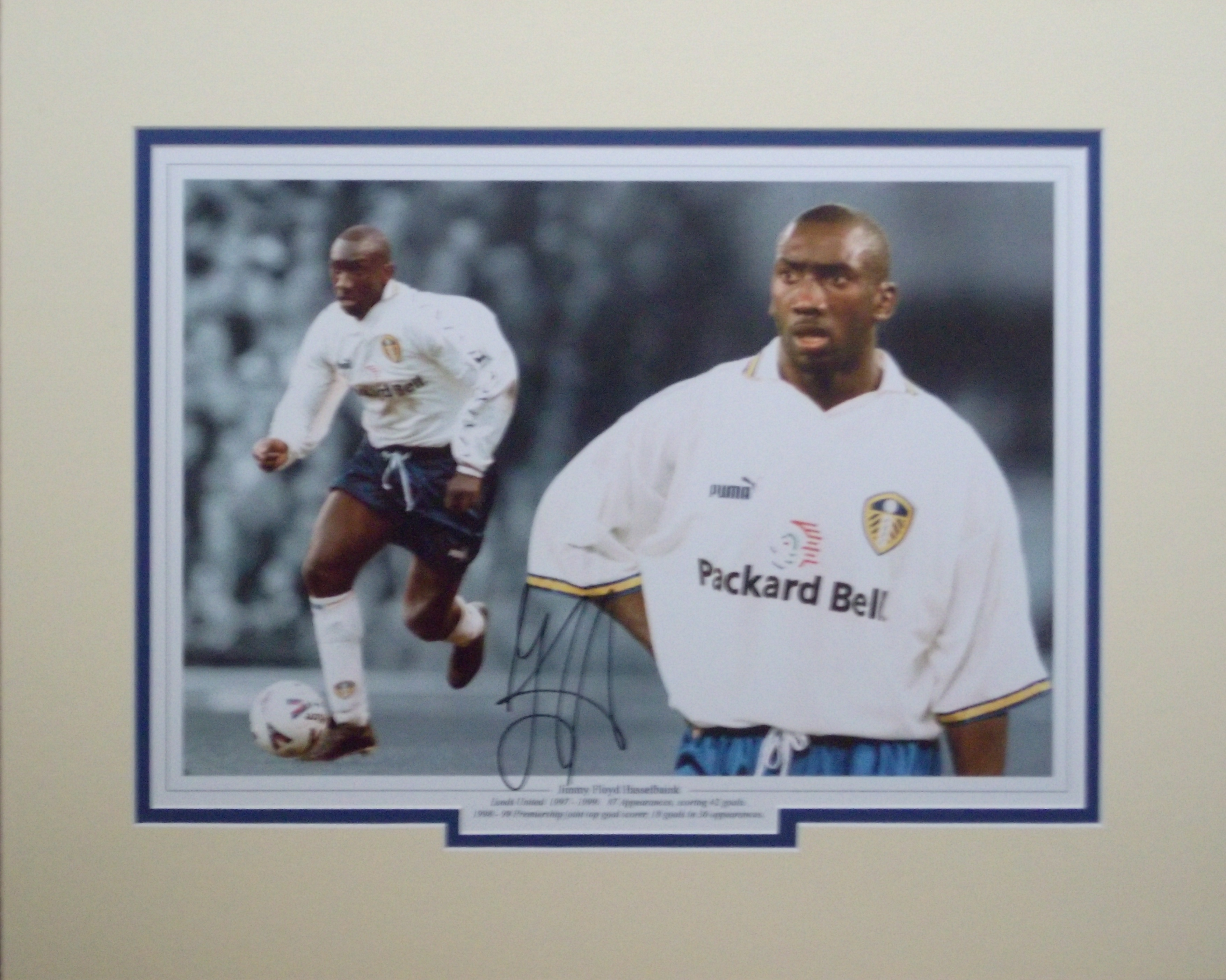 Jimmy Floyd Hasselbaink Leeds United signed Montage