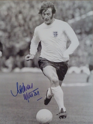 Rodney Marsh England Legend signed 16 x 12 Photo