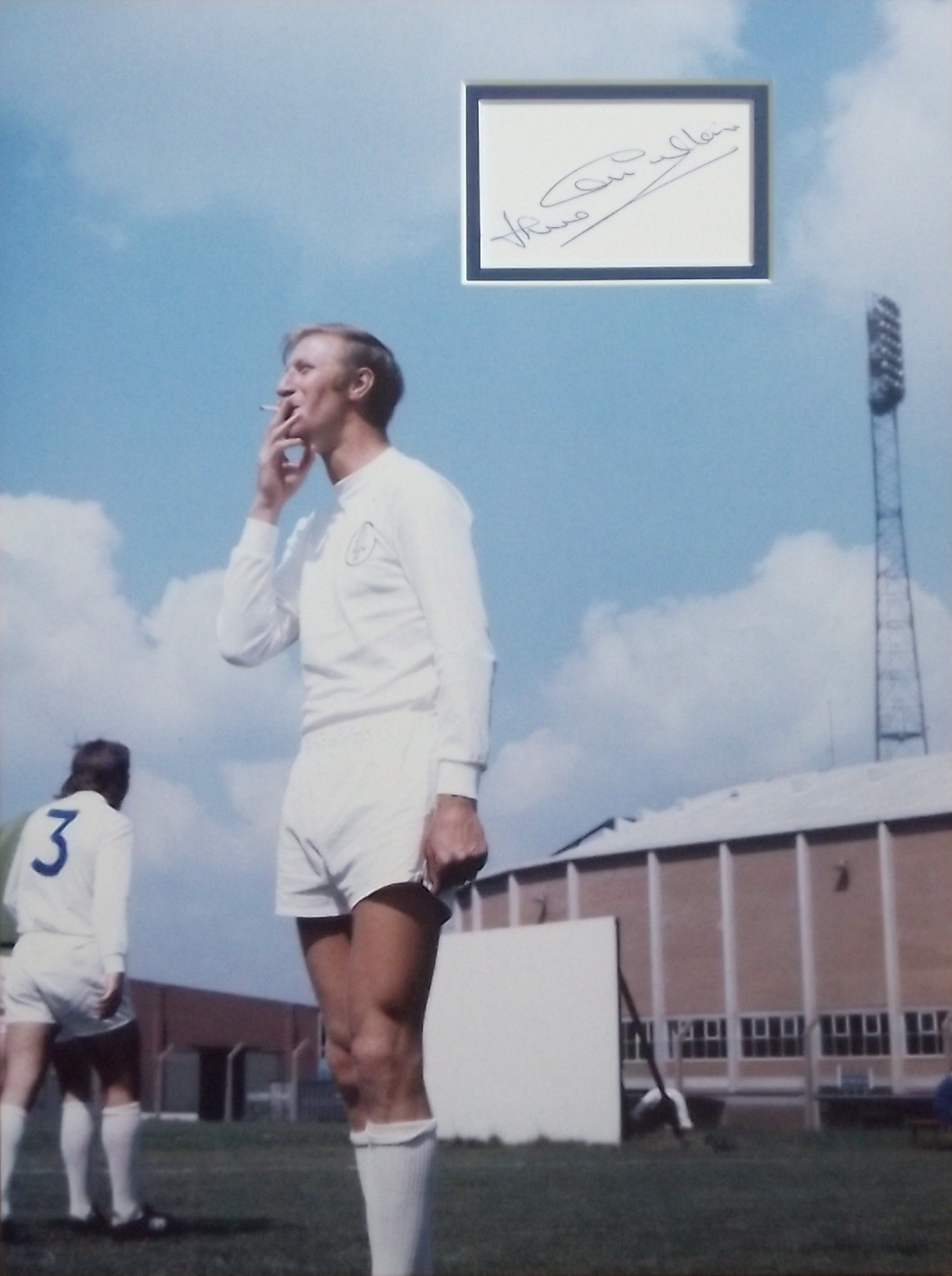 Jack Charlton Leeds United Signed & Mounted Photo Display