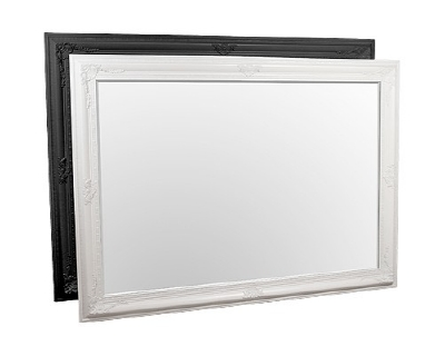 FMC646 Edward MASSIVE king size mirror in Silver Black or white 153x214cm SALE £299
