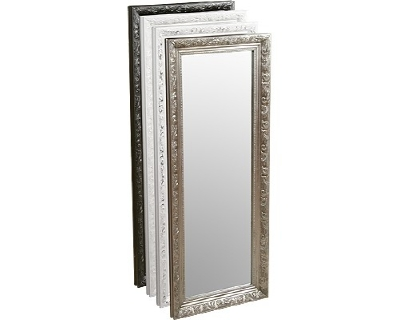FMC645 Henry mirror 100x40cm available in black, silver, white + white/silver £39