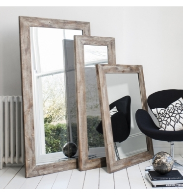 Stanton rustic timber mirror leaner 63x32inch £115 44x32inch £75 56x20inch £75