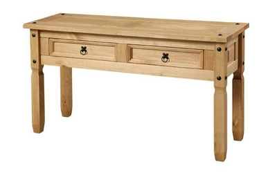 Corona Mexican Pine Large console table
