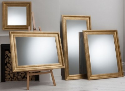 Burwell mirror gold 27x27in £SOLD OUT, 46x34in £109, 50x40in £135, 65x32in £139 LAST FEW
