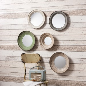 Crosby wall mirrors set of 5 SALE £79