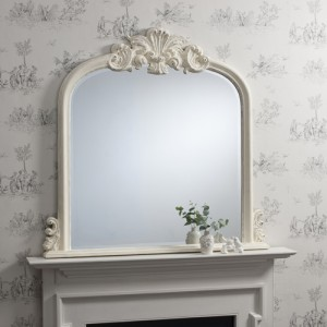 Heversham mirror antique cream 47x46 inches SALE £229 FURTHER REDUCTION £129 LAST ONE