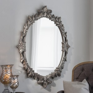 Marland silver mirror 50x35in SALE £129