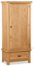 Salisbury Erne 1 door narrow wardrobe