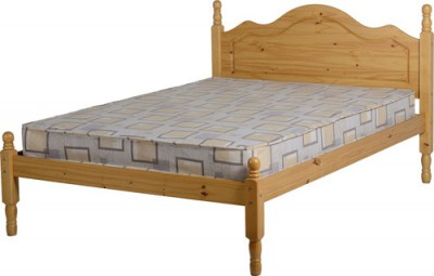 Classic solid pine 4ft6 double bed