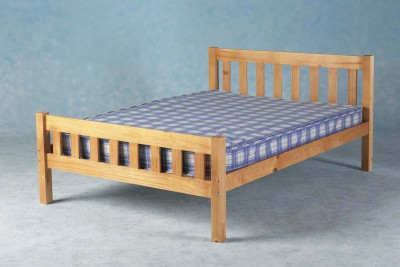 Carlow solid Antique pine 4ft6 double bed