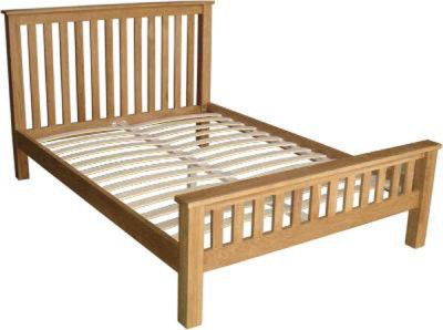 Modern classic Solid Oak 4ft6 Double bed