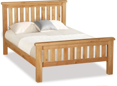 Erne oak slatted 4ft6 double bed