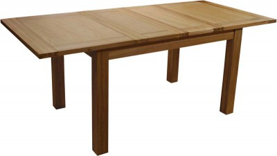 Modern Classic Double extending 4-6 seat dining table