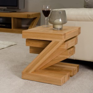 Z Designer Oak Nest of Tables