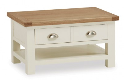 New England Small Coffee Table with Drawer
