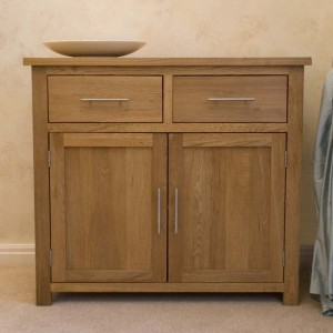 Modern Classic Solid Oak Small Sideboard