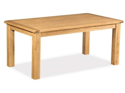 Erne Oak Fixed Small Dining Table