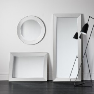 Bertoni mirrors leaner 75x32in SALE £199, Rectangle 42x32in SALE £129, Round 32in SALE £109