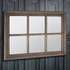 Crawford weathered mirror 28x20inch SALE £59